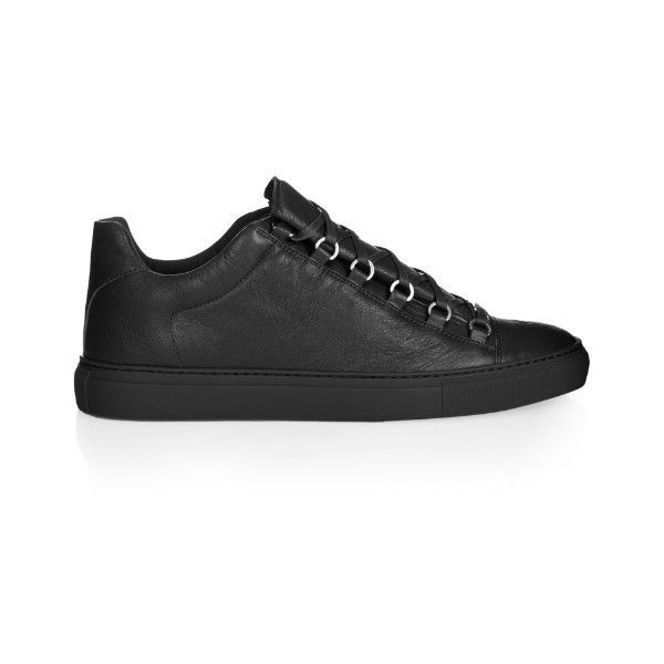 leather trainers   Leather shoes men