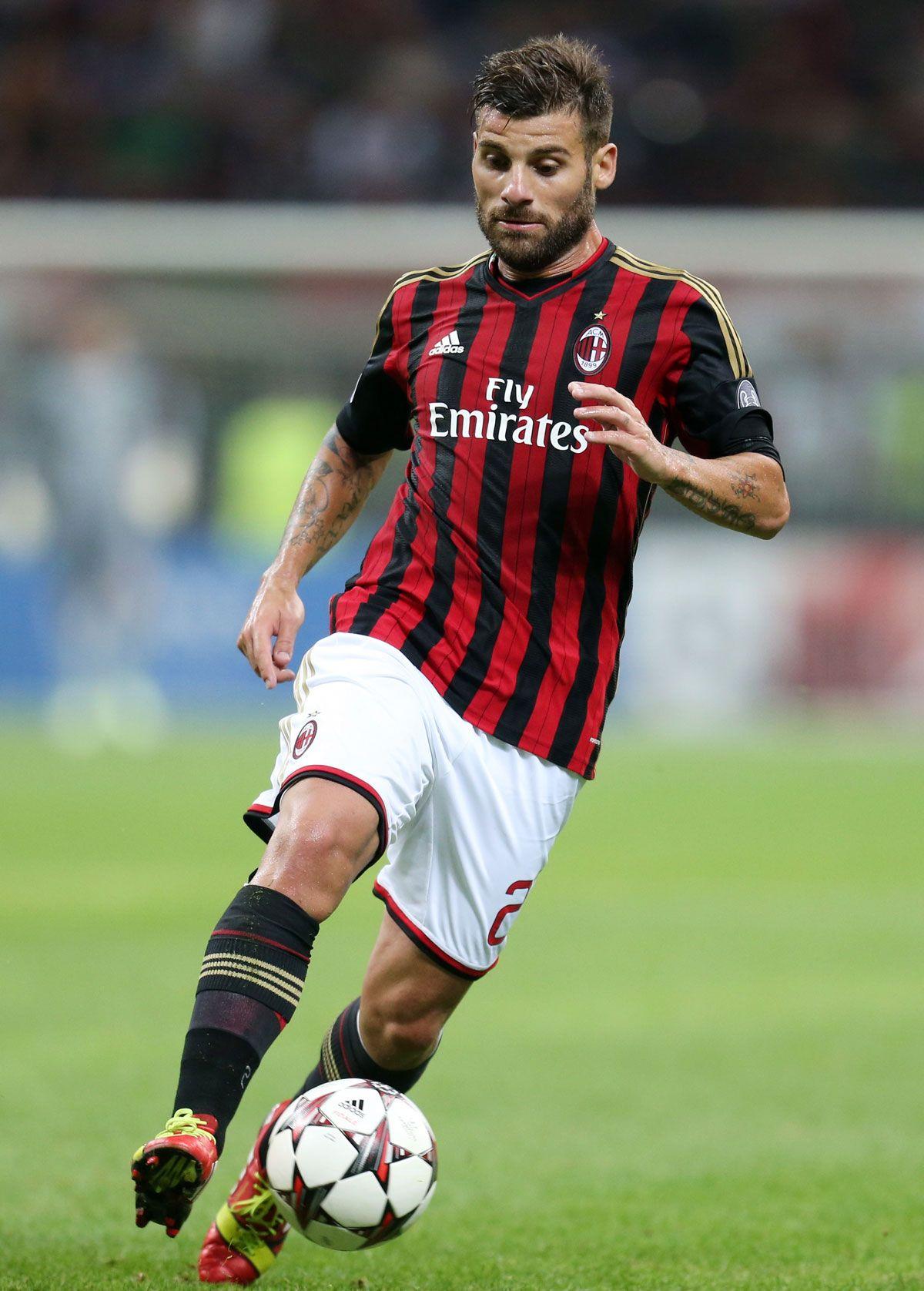 Antonio Nocerino Of Ac Milan Soccer Ac Milan Orlando