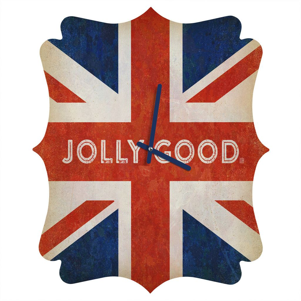 http://www.denydesigns.com/products/anderson-design-group-jolly-good-british-flag-quatrefoil-clock