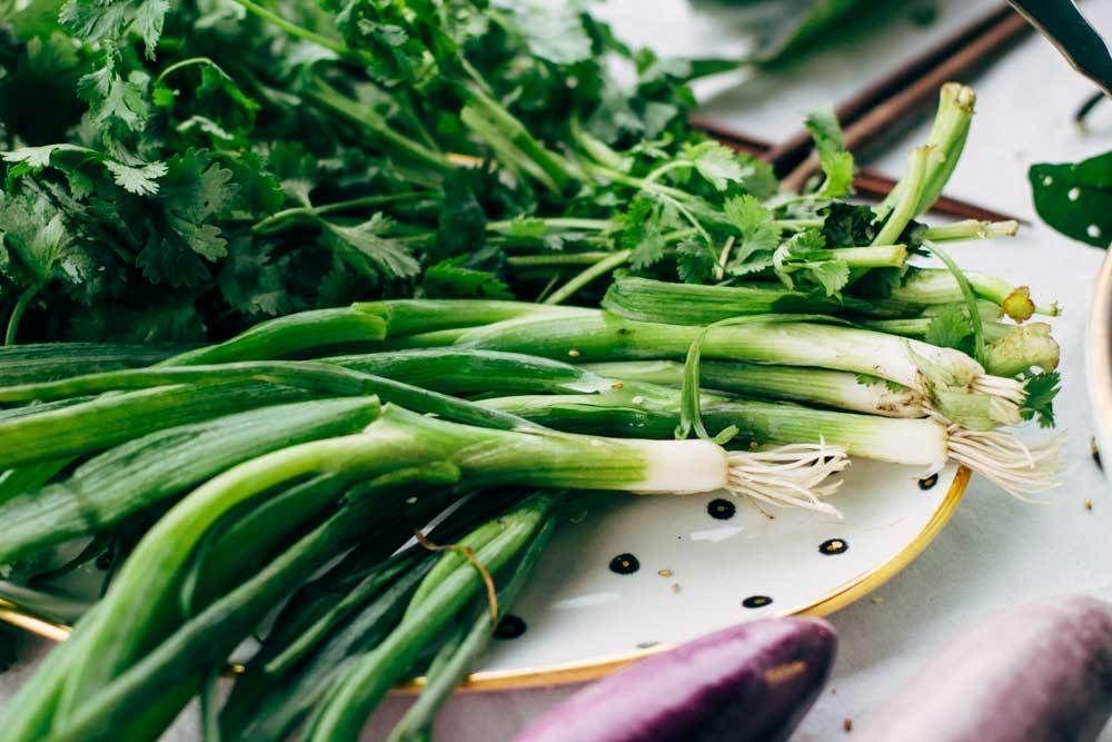 Garden to table eggplant stir fry eggplant stir fry