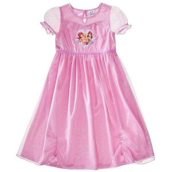 Disney Princess Toddler Girls\' Short-Sleeve Sleep Gown ($15 ...