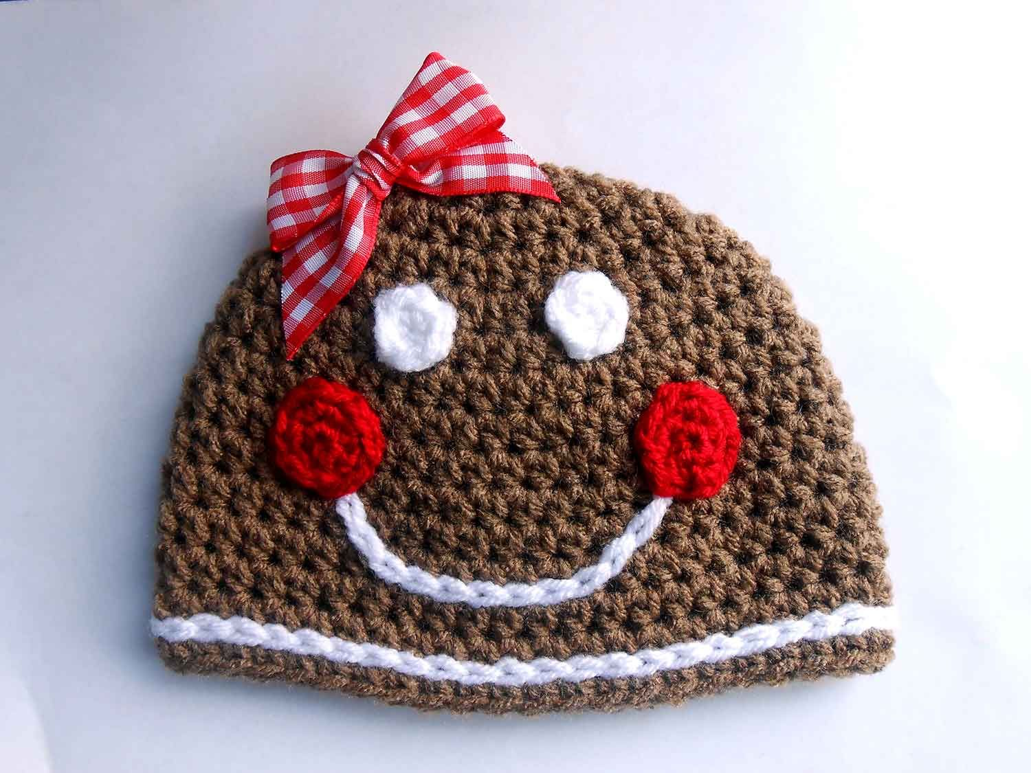 Get this free pattern to make a crochet gingerbread man hat or get this free pattern to make a crochet gingerbread man hat or woman for bankloansurffo Image collections