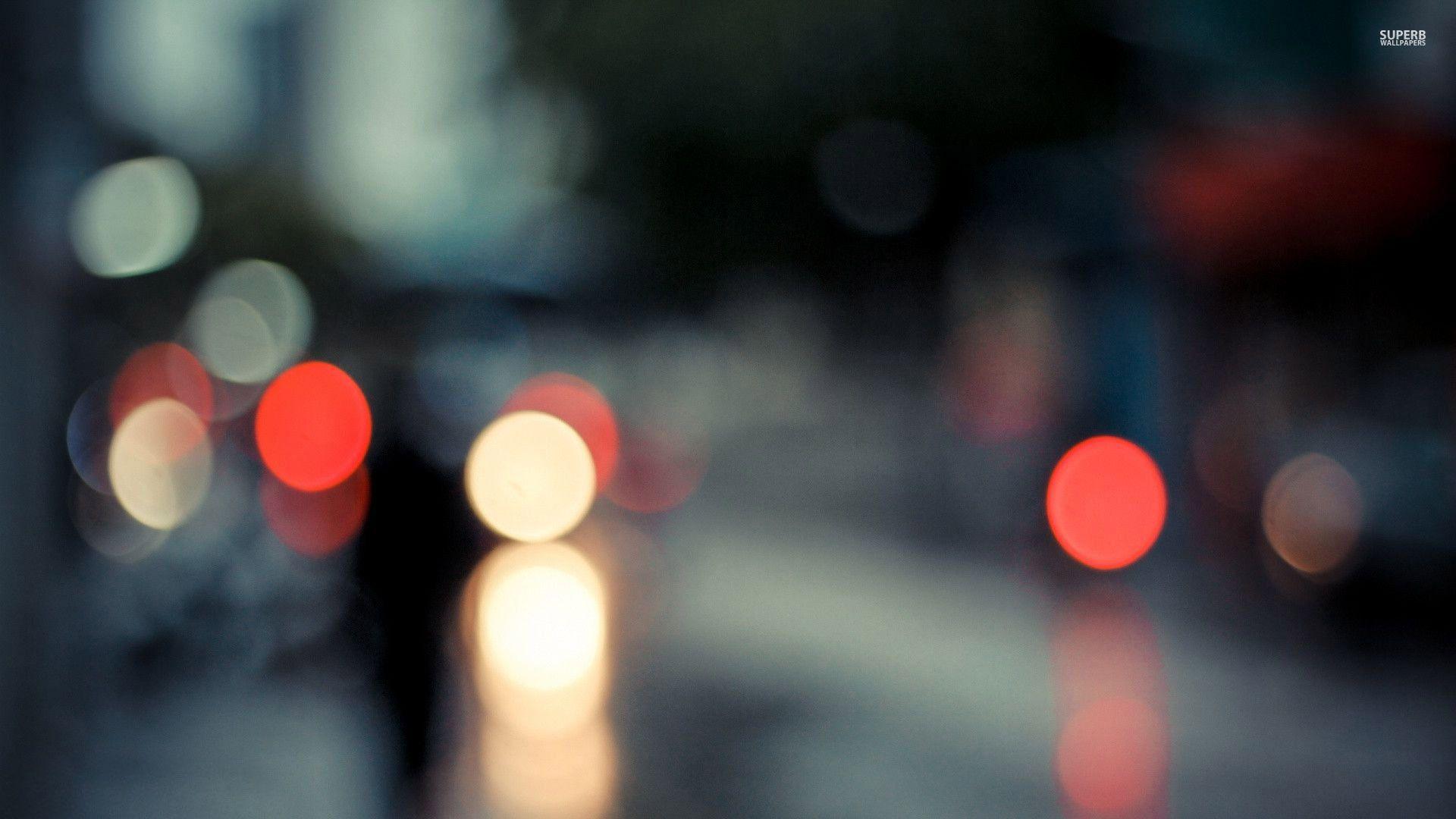 blurry lights wallpaper