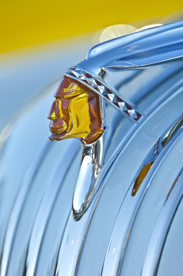 1948 Pontiac Chief Hood Ornament by Jill Reger
