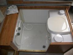Cassette Toilet Shower Combo