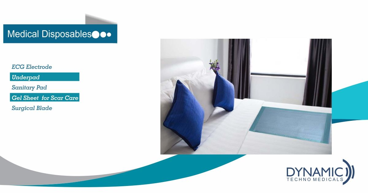 Dyna Disposable Underpad Bed pads, Sanitary pads, Bed