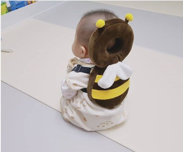 Baby head bump protector