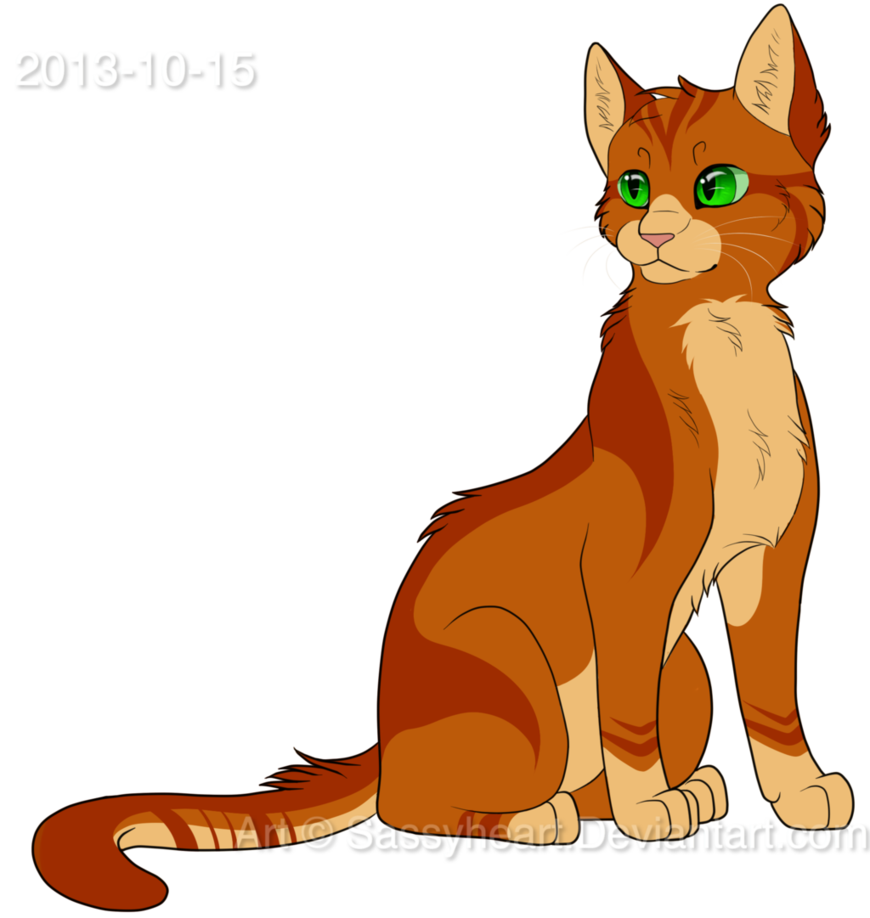 Into The Wild Graypaw Warriors: New Firepaw Design By SassyHeart On DeviantArt