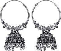 Kaizer Jewelry Princess Nickel Hoop Earring