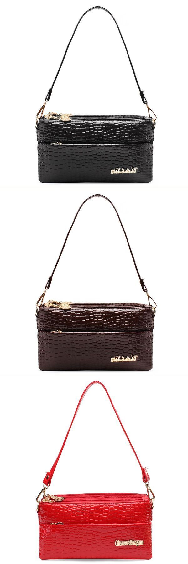 Clutch Bags For Wedding Guests Women 8217 S Crocodile Pu Leather Handbag Chain Shoulder Glasgow Gumtree