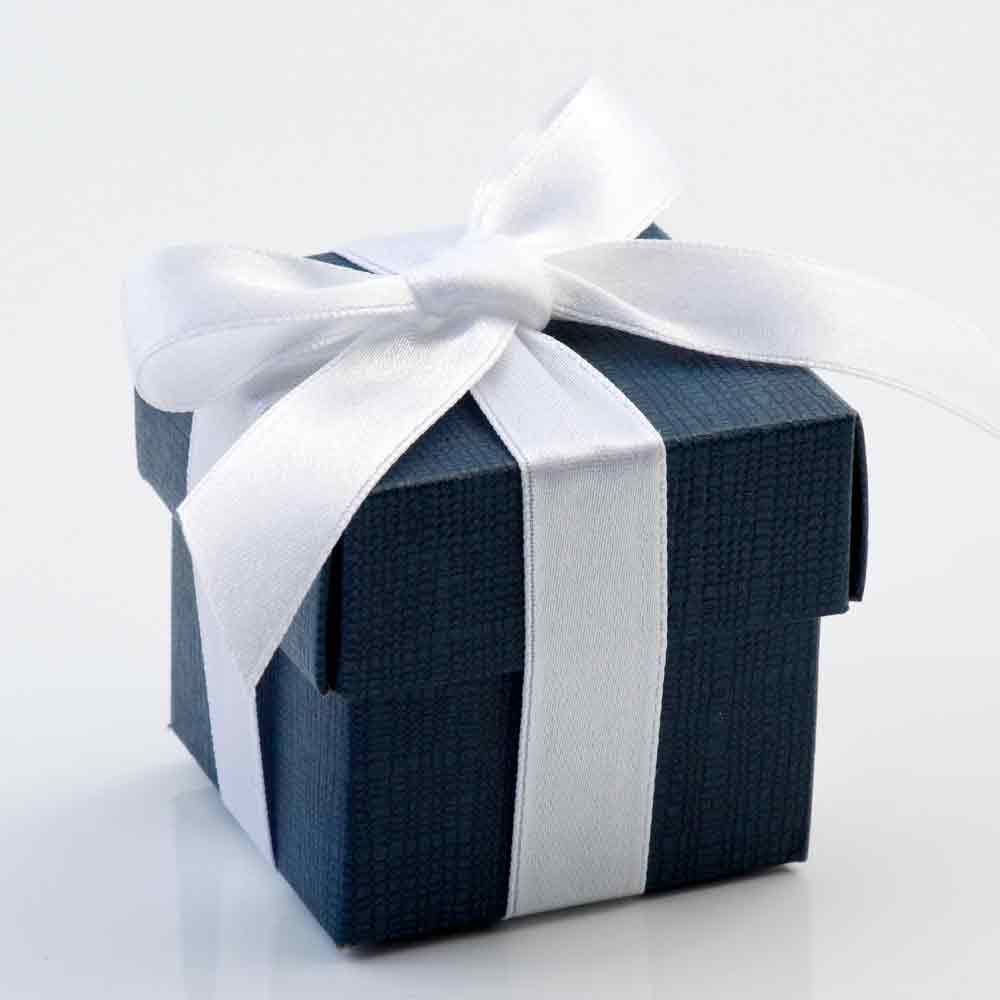 Navy Chest Wedding Favour Boxes | Winter Wedding | Pinterest ...