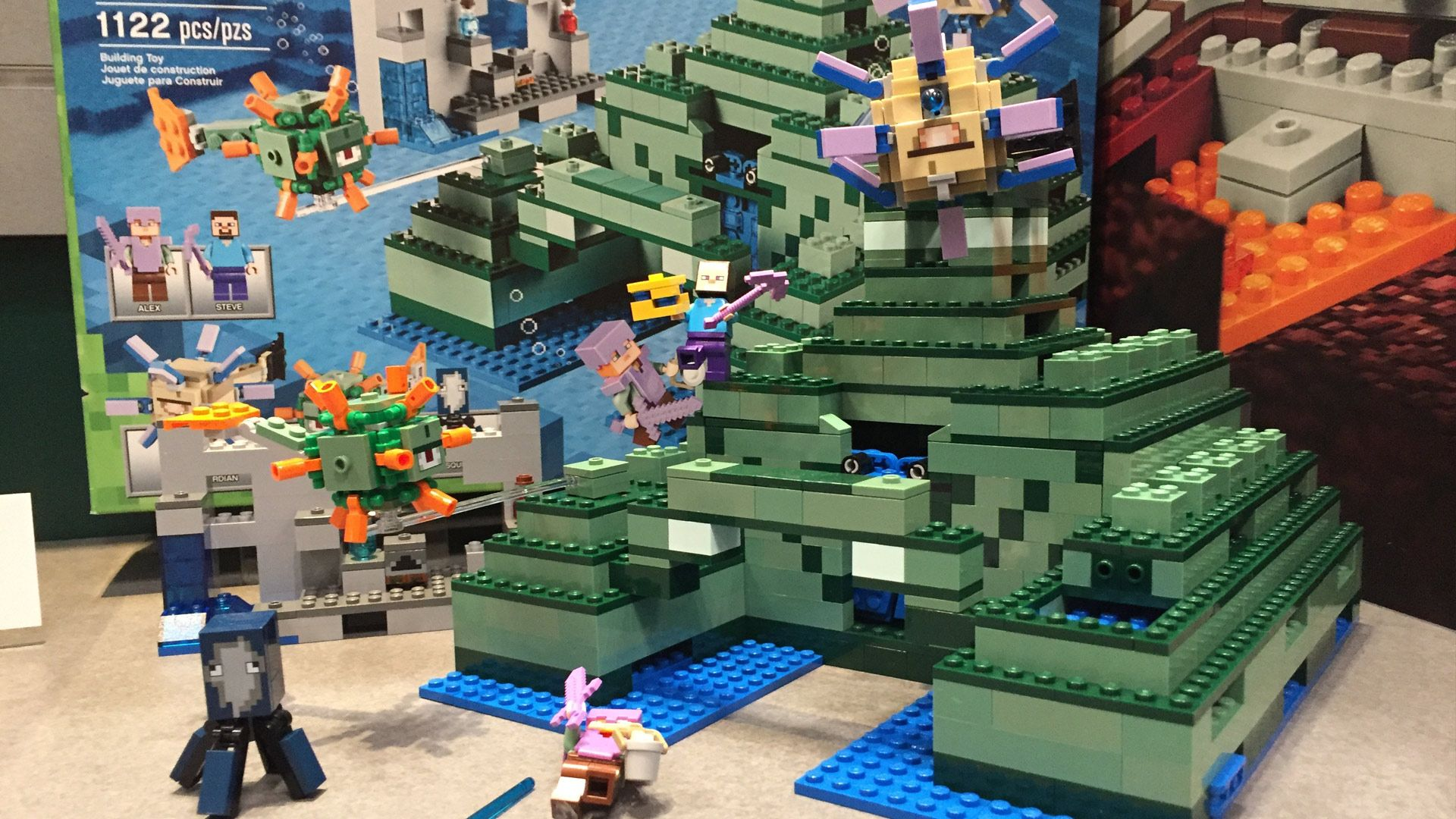Lego Minecraft Sets 2017 At Toy Fair 2017 Colby S Pins