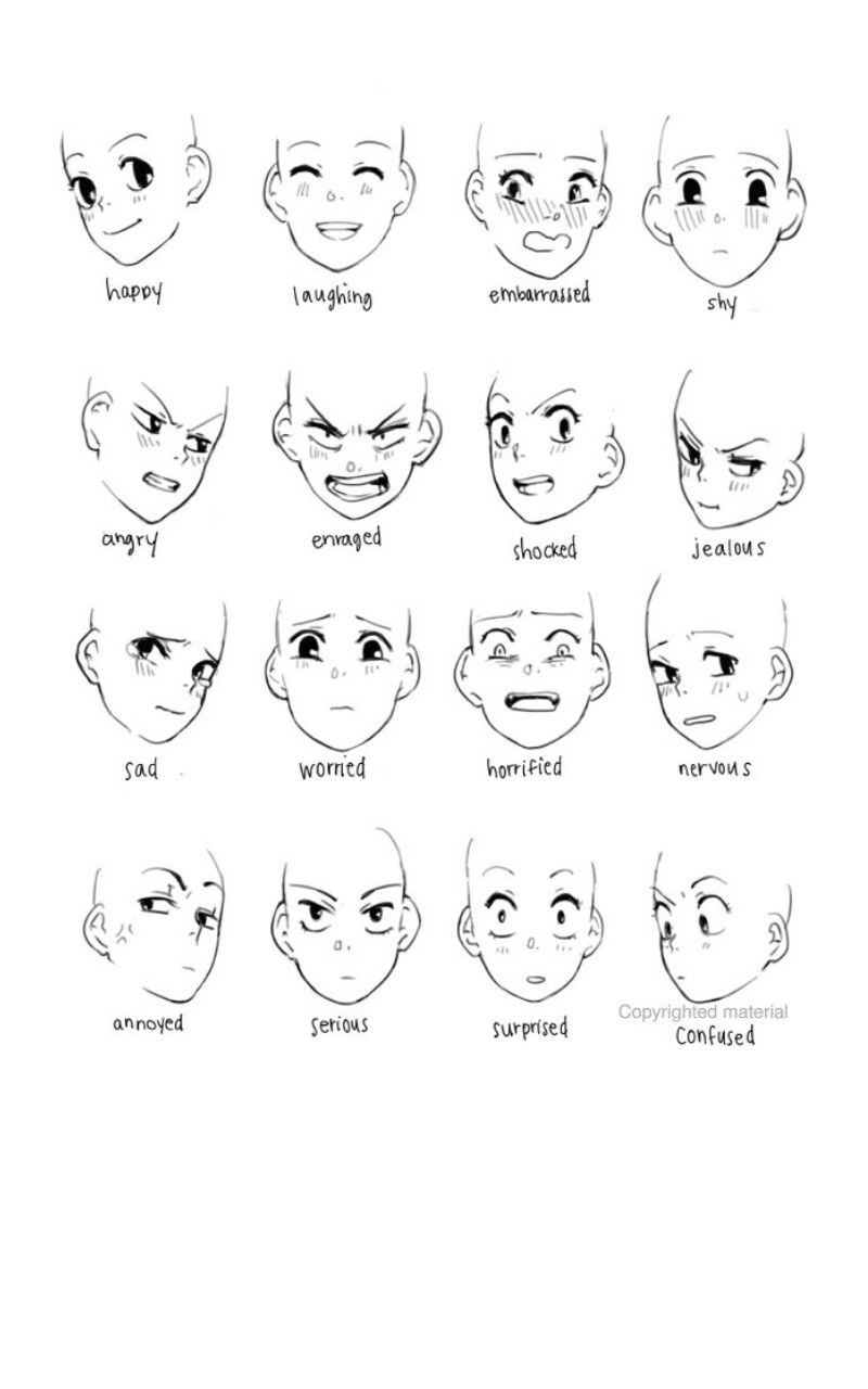 Pin By Ivan Dimitrov On Tatuirovok Drawing Expressions Anime Face Drawing Chibi Girl Drawings