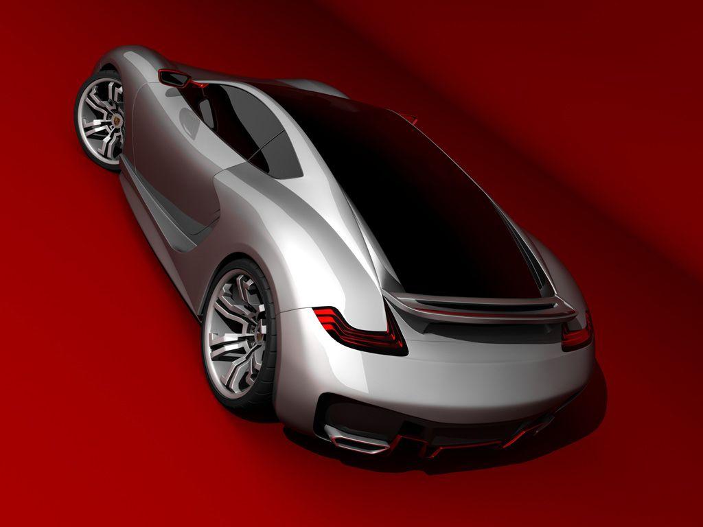 Porsche Supercar Concept By Iranian Designer Emil Baddal Coches Bellisima