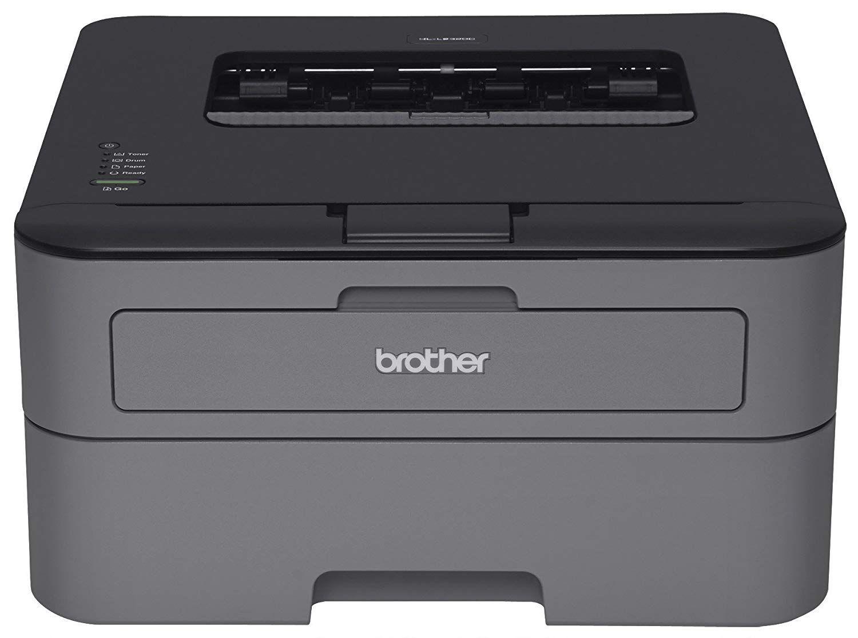 Buy Brother Hl L2300d Monochrome Laser Printer With Duplex Printing Laser Printer Brother Printers Black And White Printer