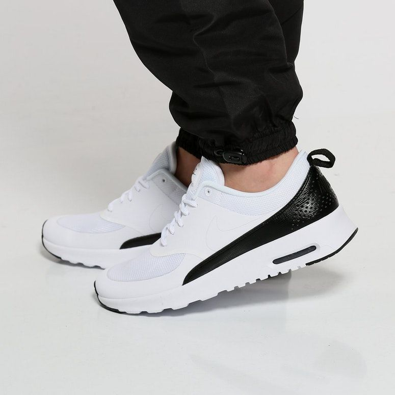 another chance new design the best attitude Nike Women's Air Max Thea White/Black | Air max women, Air max ...