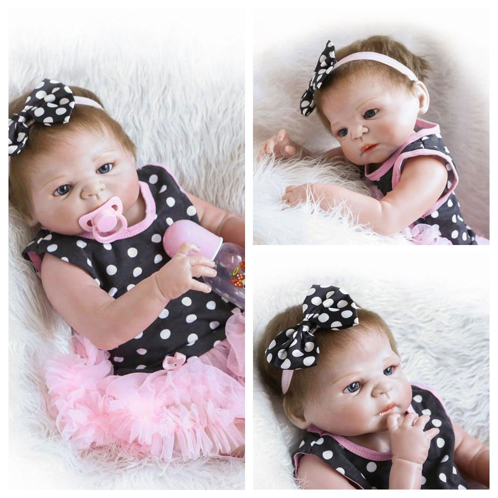"UBesGoo 23"" 57cm Collection Reborn Baby Doll Realistic"