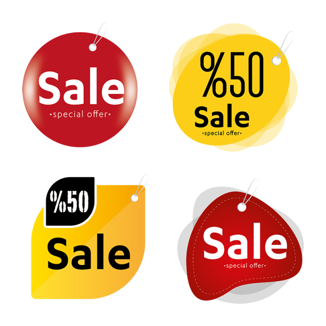 Vector Sales Label Set Sales Icons Label Icons Label Png And Vector With Transparent Background For Free Download Labels Sale Logo Graphic Design Background Templates