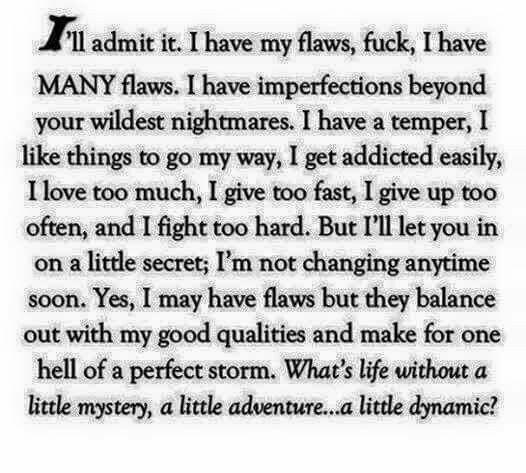 I'll admit it!!!