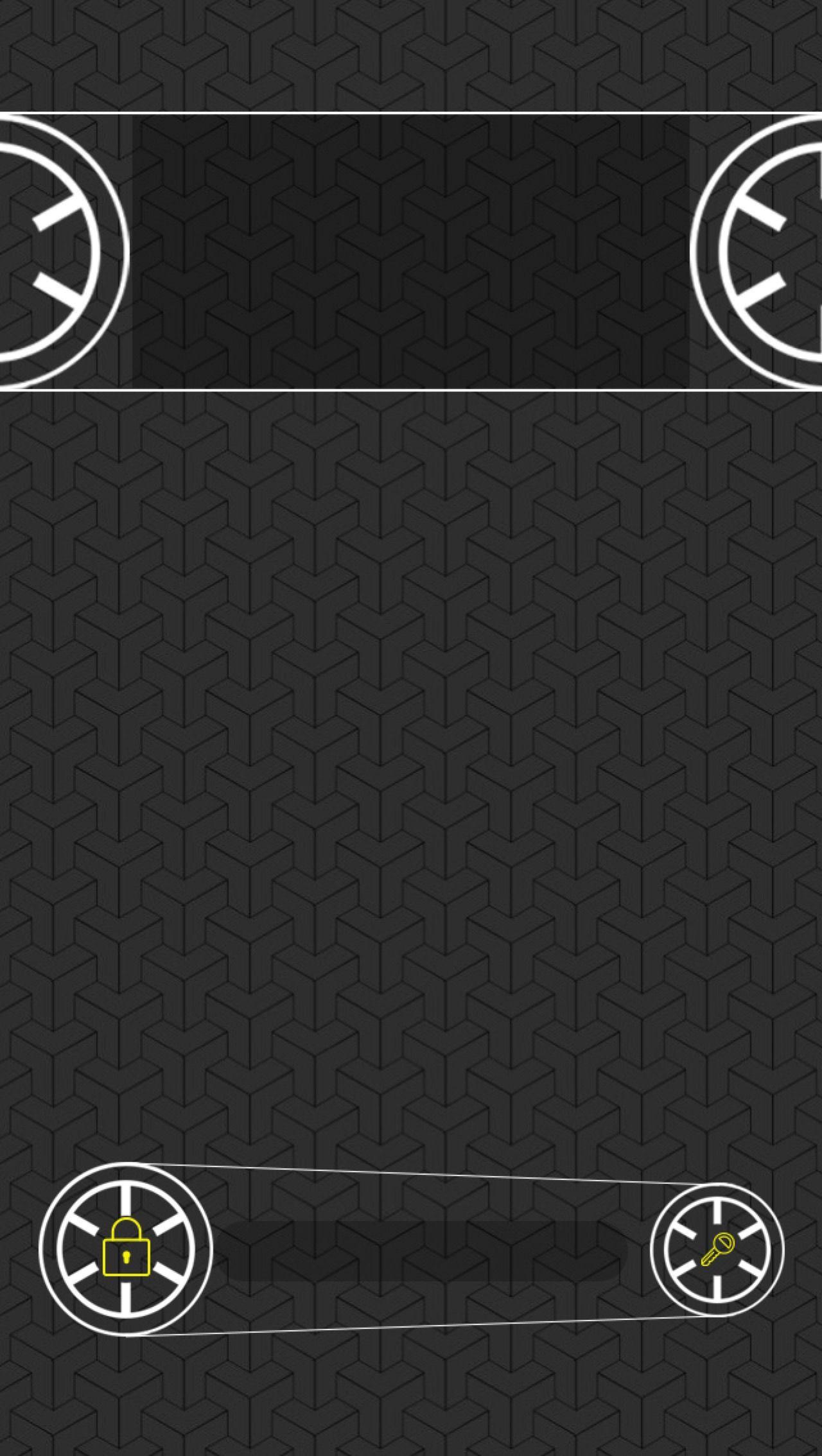 Tap And Get The Free App Lockscreens Circle Black Grey Art