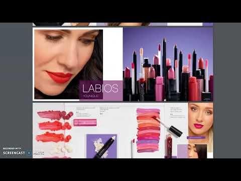 Catalogo Younique Espana 2018 Marzo Agosto 2018 Cosmeticos