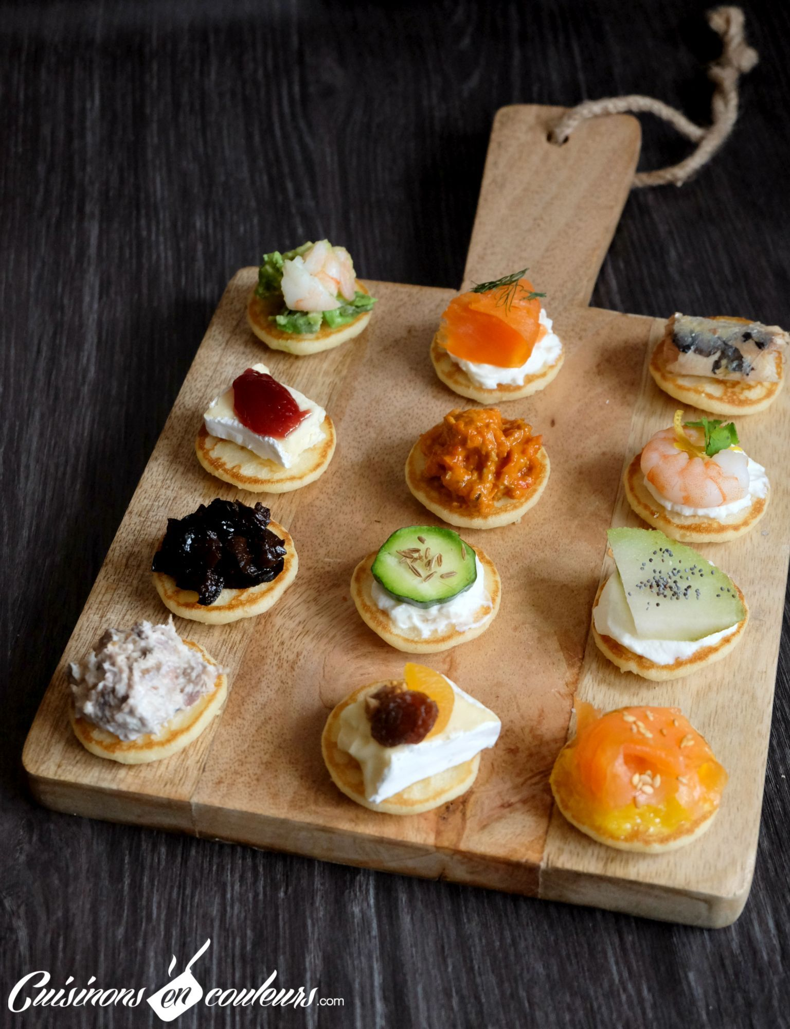 12 id es de garnitures pour vos blinis party finger food aperitif appetizers appetisers. Black Bedroom Furniture Sets. Home Design Ideas