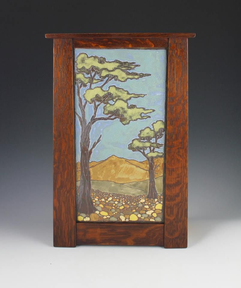 Safr Pottery Tile By Sarah Moore Featuring Frame Mike Devlin