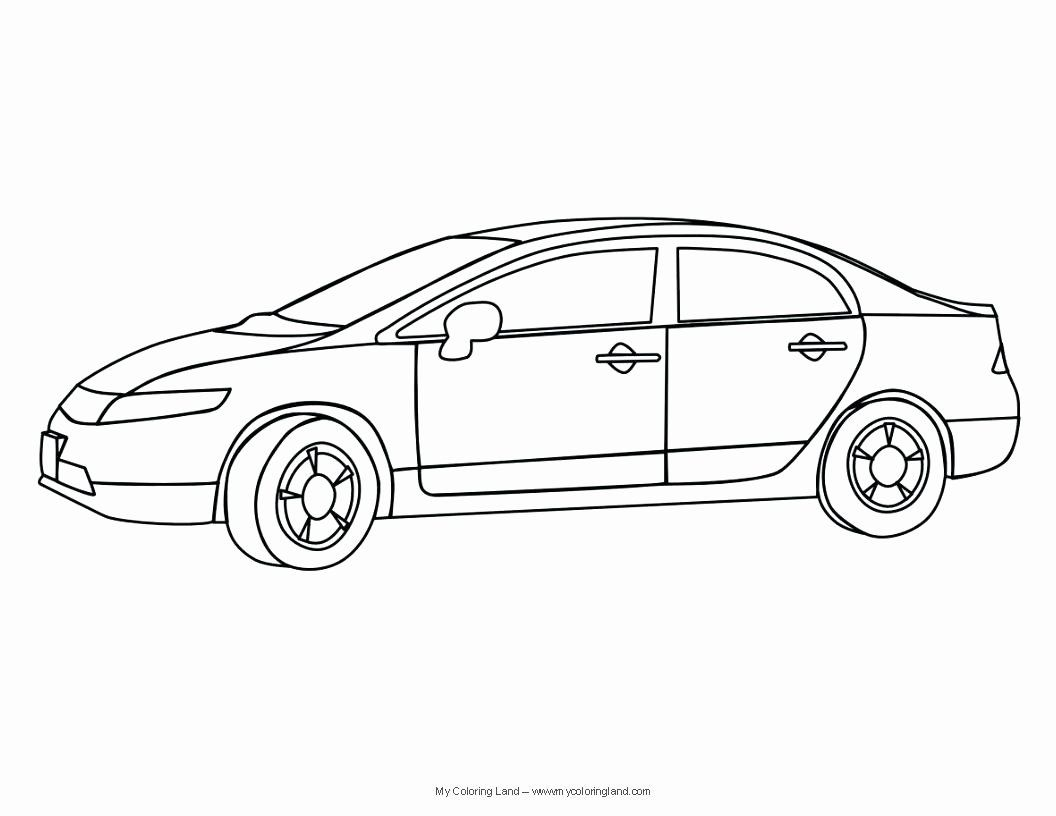 Honda Civic Coloring Pages Honda Civic Honda