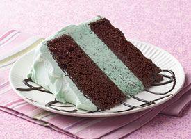 Mint Choc Ice Cream Cake