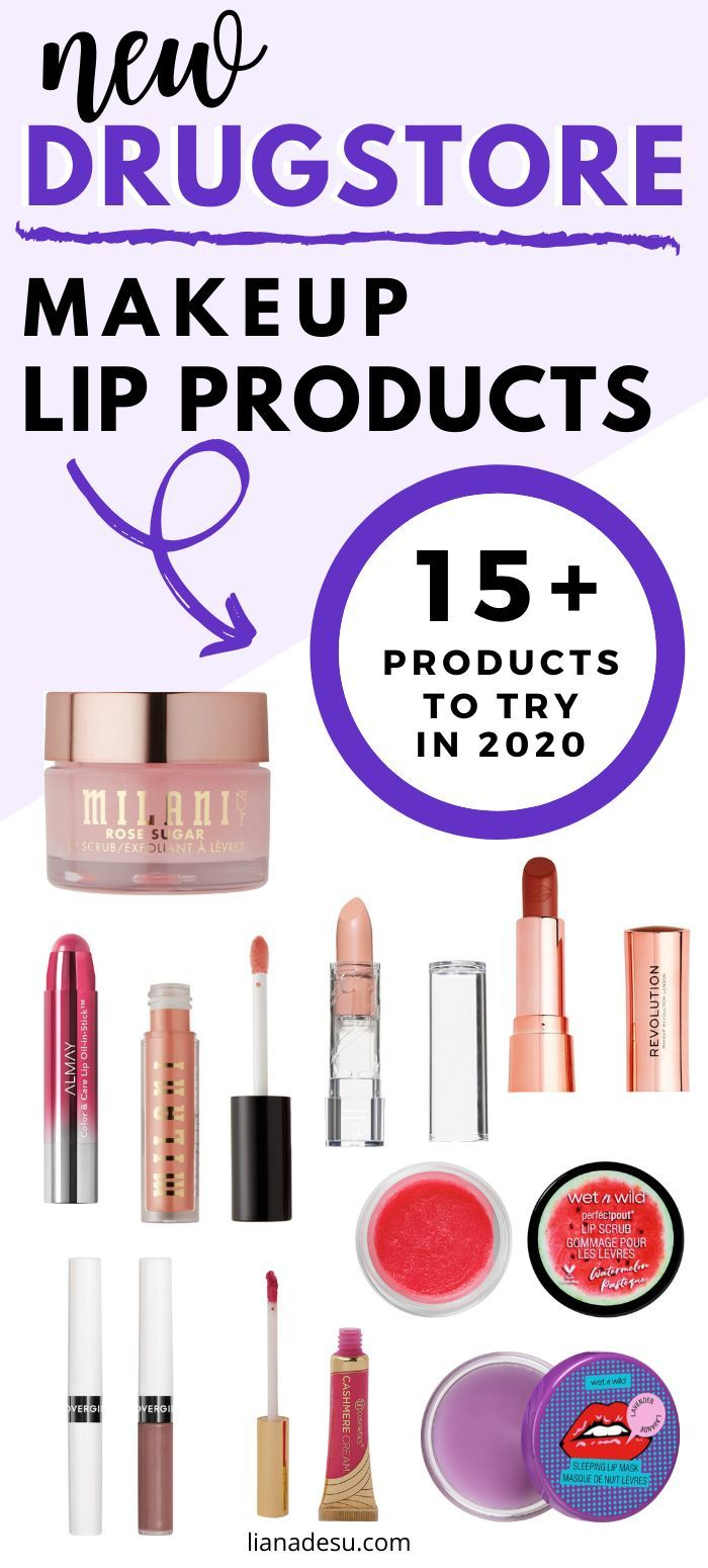 New MustTry Drugstore Makeup in 2020 Lip Products