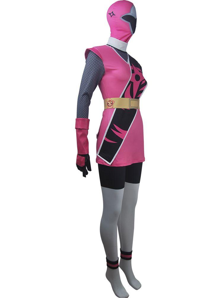 Power Ranger Ninja Steel Pink Girl/'s Costume
