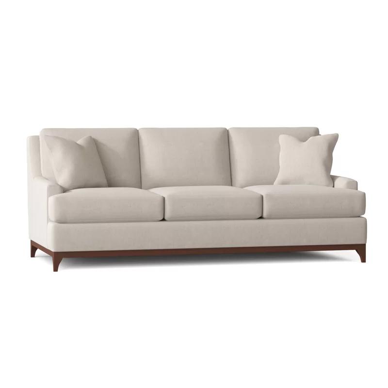 "Kaylyn 89"" Recessed Arm Sofa in 2020 Custom upholstery"