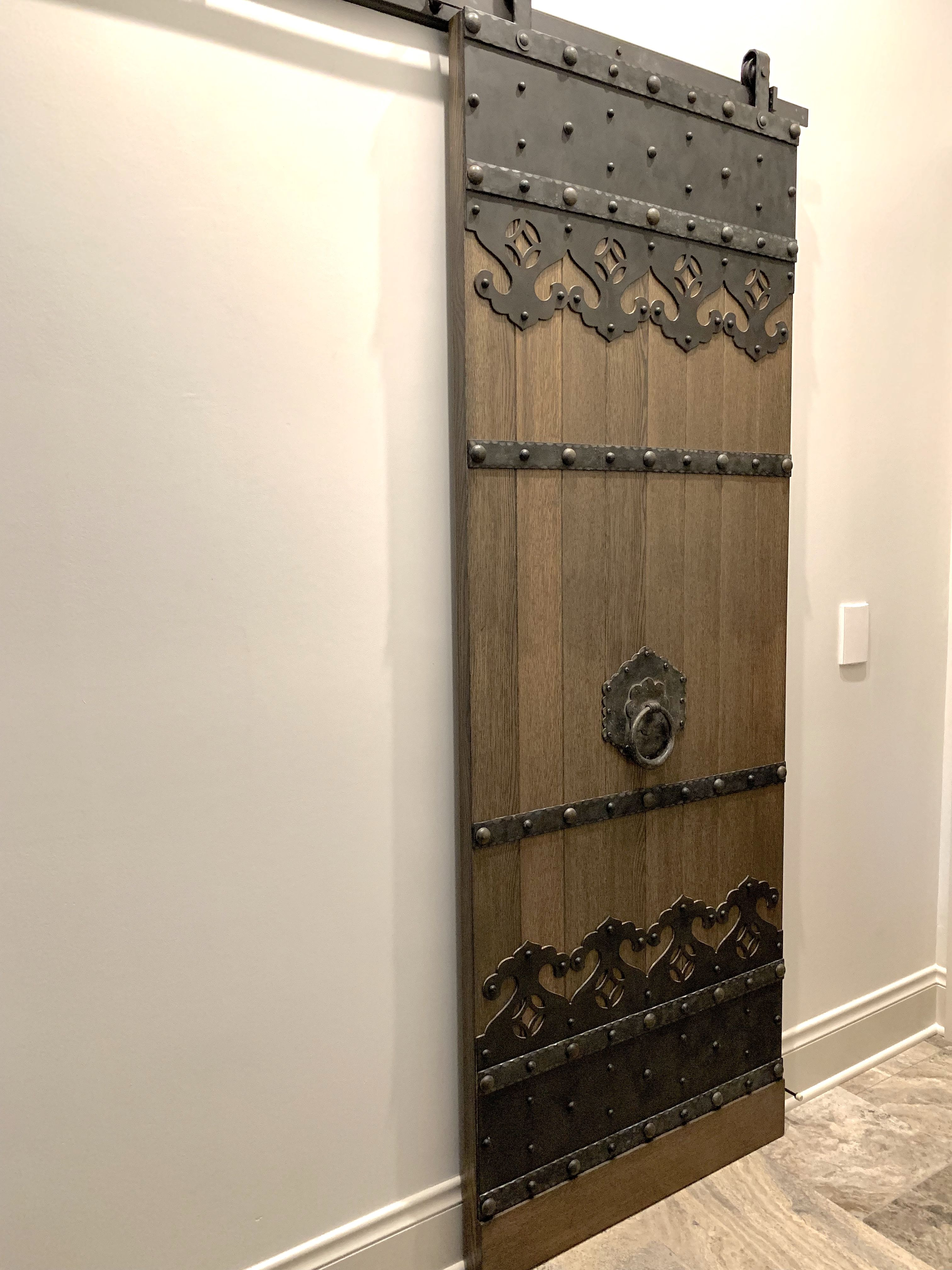 Call Or Email Old West Iron For A Quote On Any Of The Iron Work Shown On The Door Custom Barn Doors Sliding Barn Door Hardware Doors