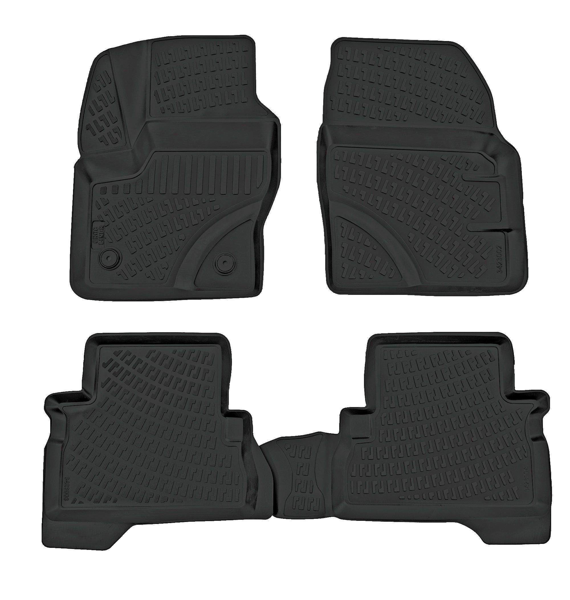 All Weather Ford Escape Car Floor Mats 2013 2019 Etsy Hybrid Car Ford Escape Escape Car