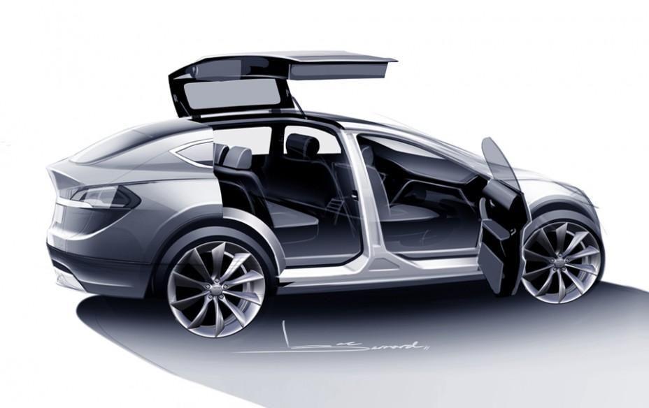 кроссовер tesla model x 2015