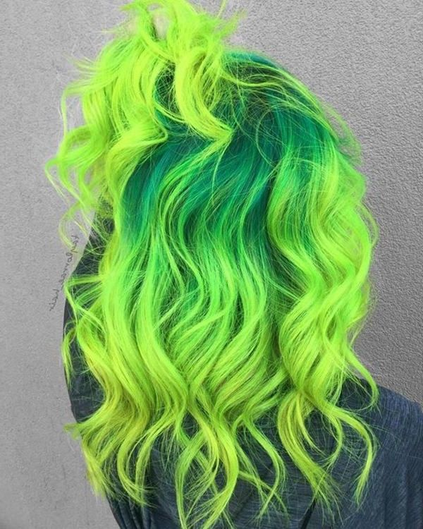 50 Green Hair Dye Ideas That You Will Love With Hairstyle Hair Styles Green Hair Dye Dyed Hair