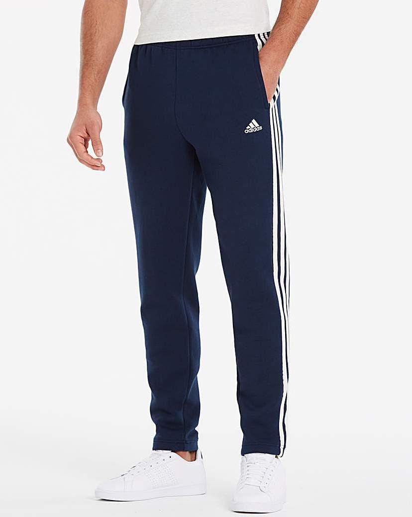 adidas Essential 3 Stripe Tapered Pant   Sport pants, Adidas