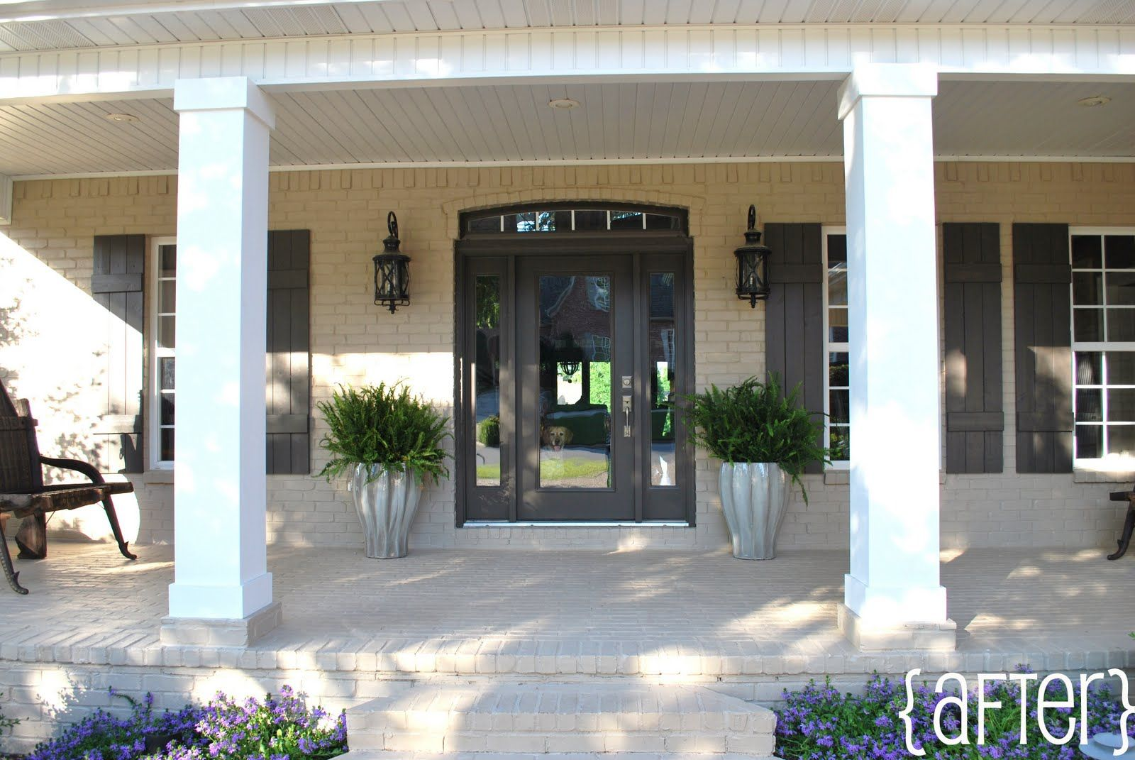 Front Door Colours: Black Fox by Sherwin Williams | curb appeal ...