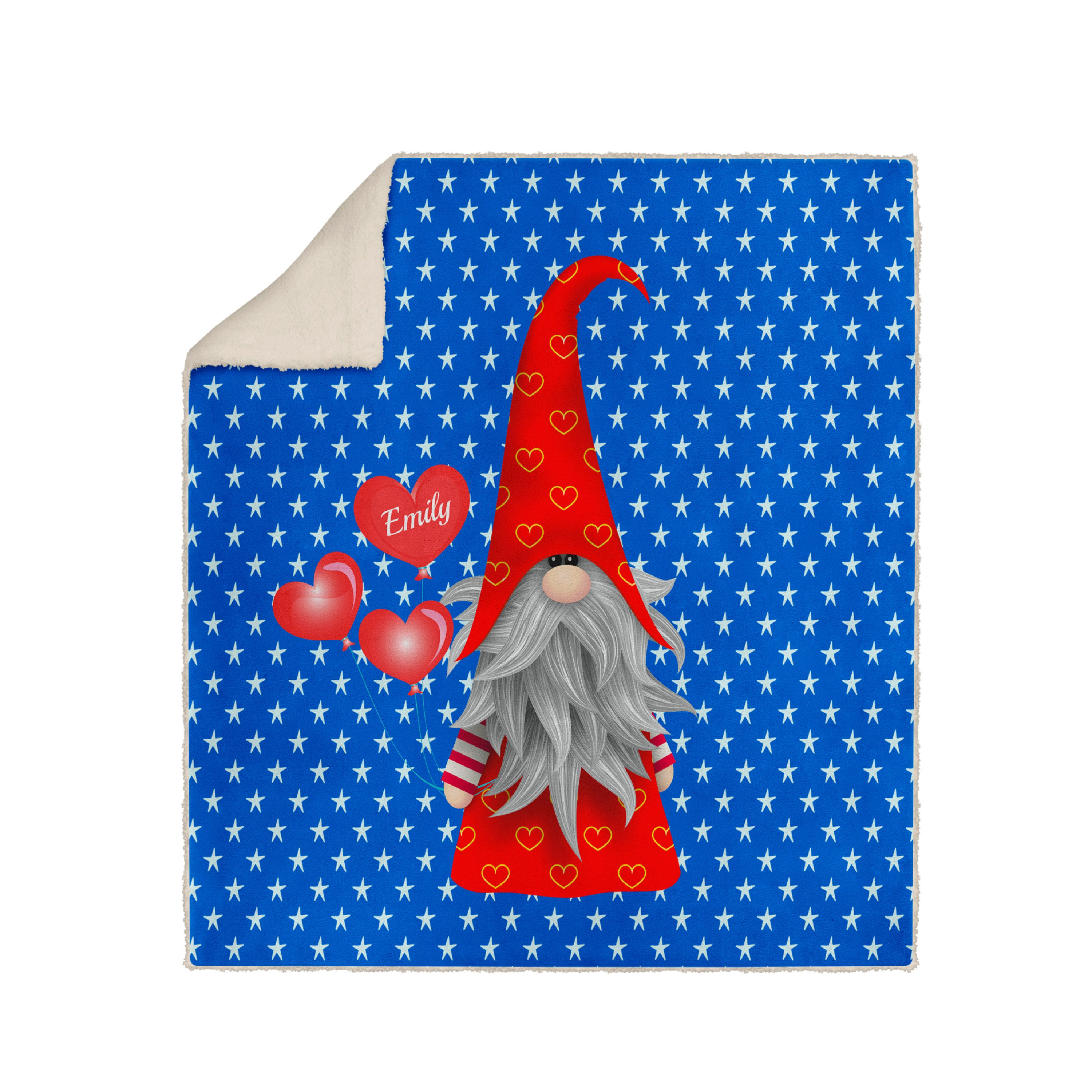 Personalized Gnome Blanket Valentines Day Gift In 2020 Funky