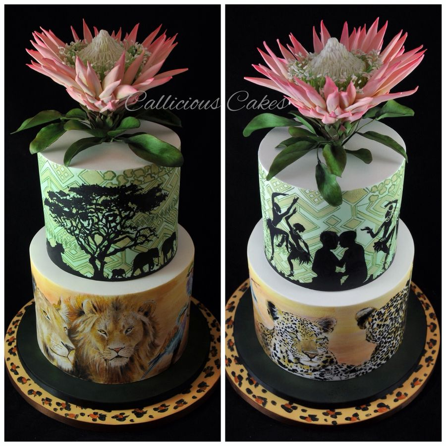 african themed wedding cake images wedding cake south theme gumpaste flowers 10603