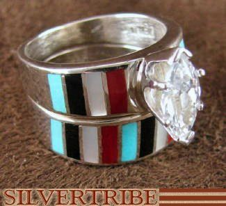 Pin By Dana Jacobs On With This Ring I Thee Wed Native American Wedding Rings Tattoo Wedding Rings Indian Wedding Rings
