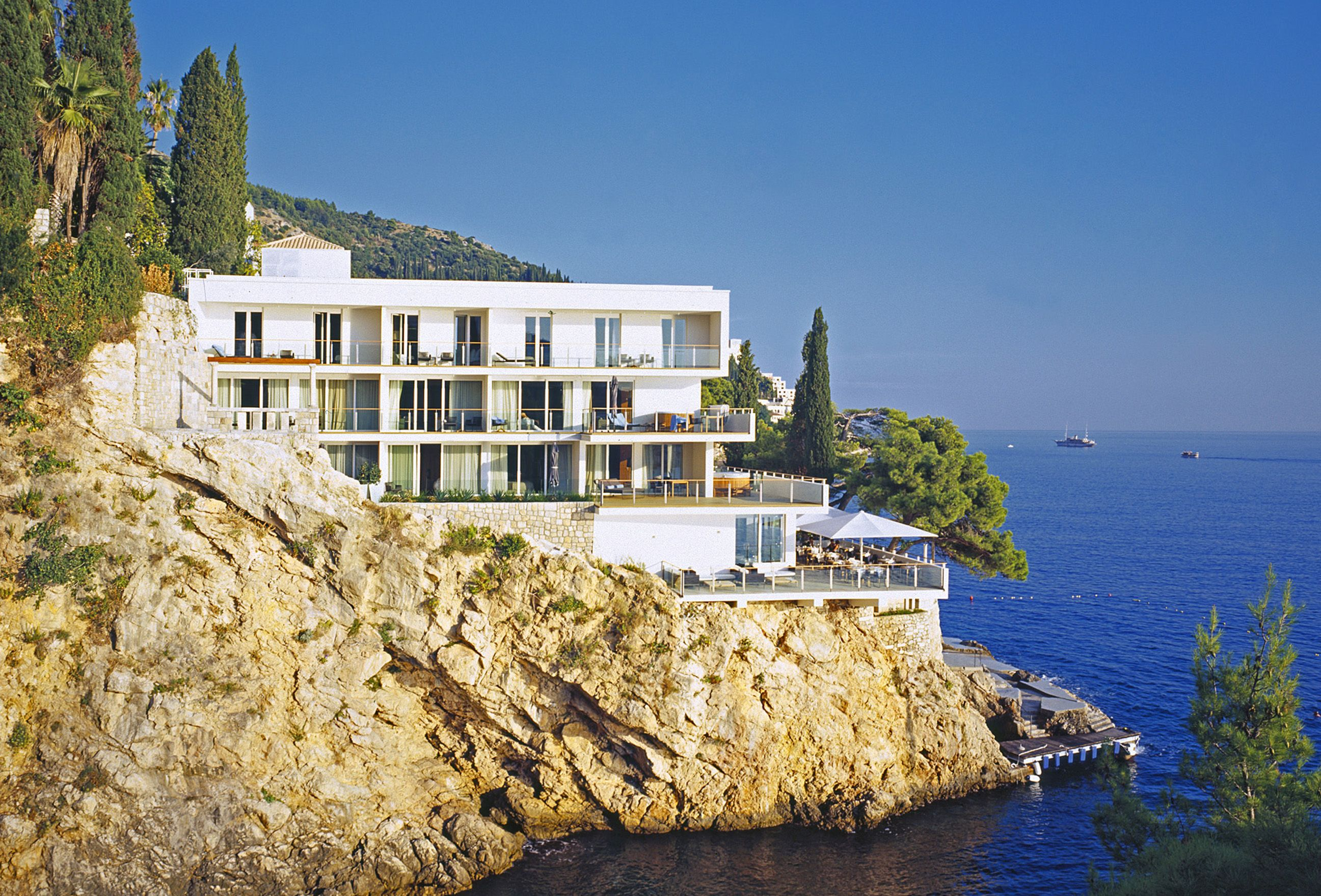 Positioned On The Cliffs Above The Prestigious St Jacob S
