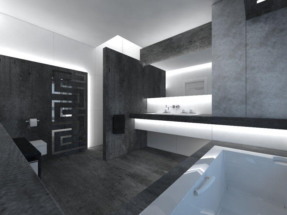 Bathroom. Modern Contemporary Interior Bathroom Design Come With ...
