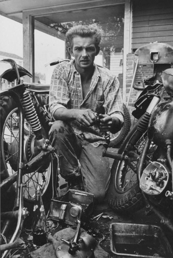"""Broken gear box spring, New Orleans"" from The Bikeriders by Danny Lyon --circa 1963-66."