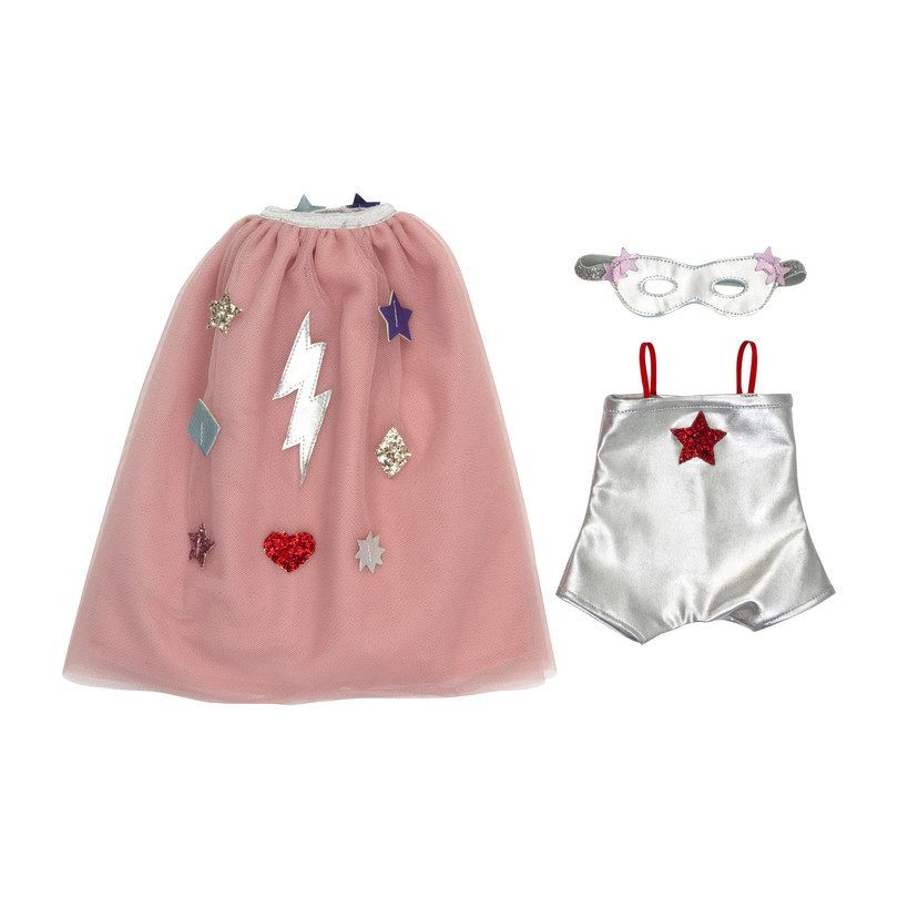 Superhero Dolly Outfit - Play Kids Dolls & Doll Accessories - Maisonette