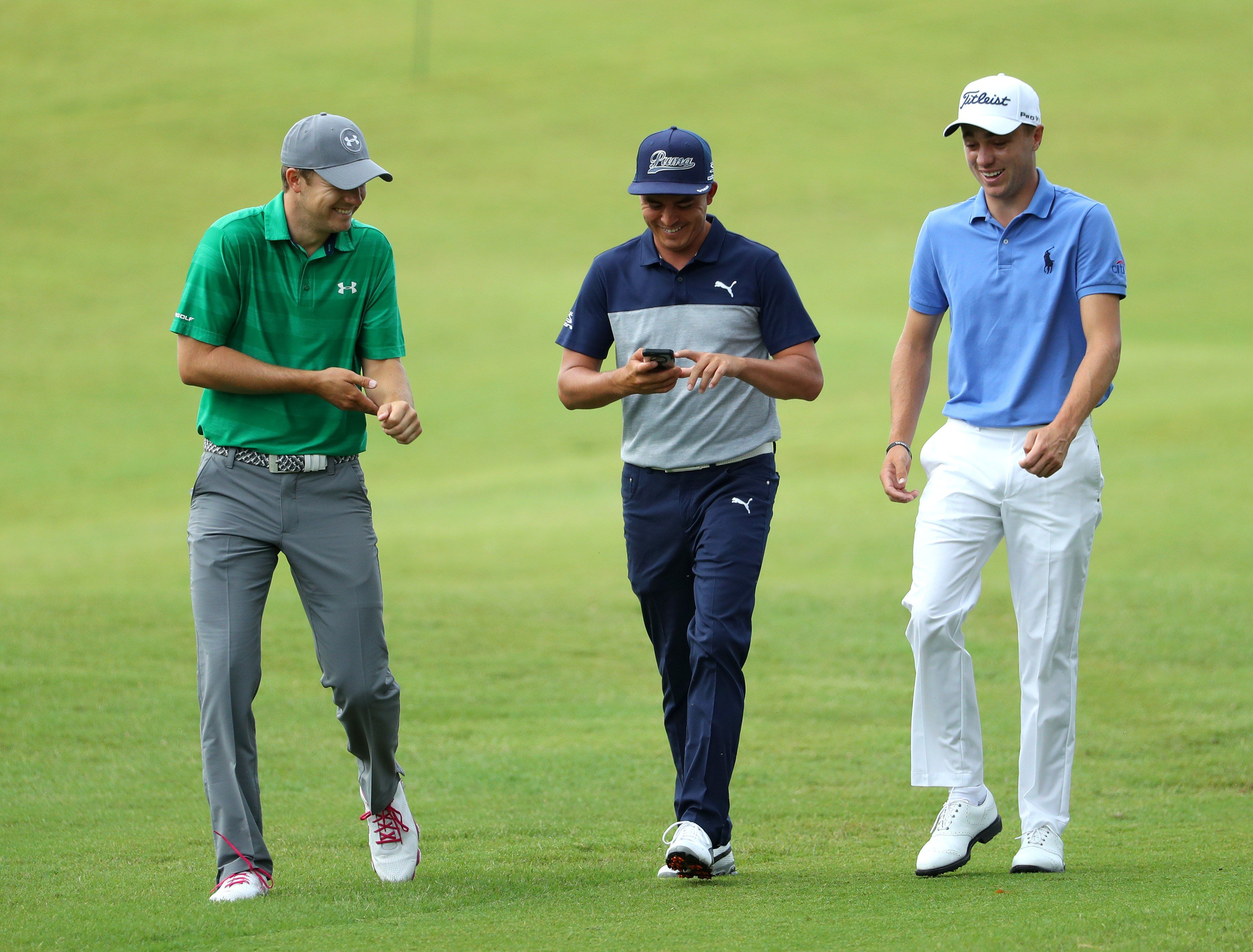 Watch what it's like to be paired with Jordan Spieth and