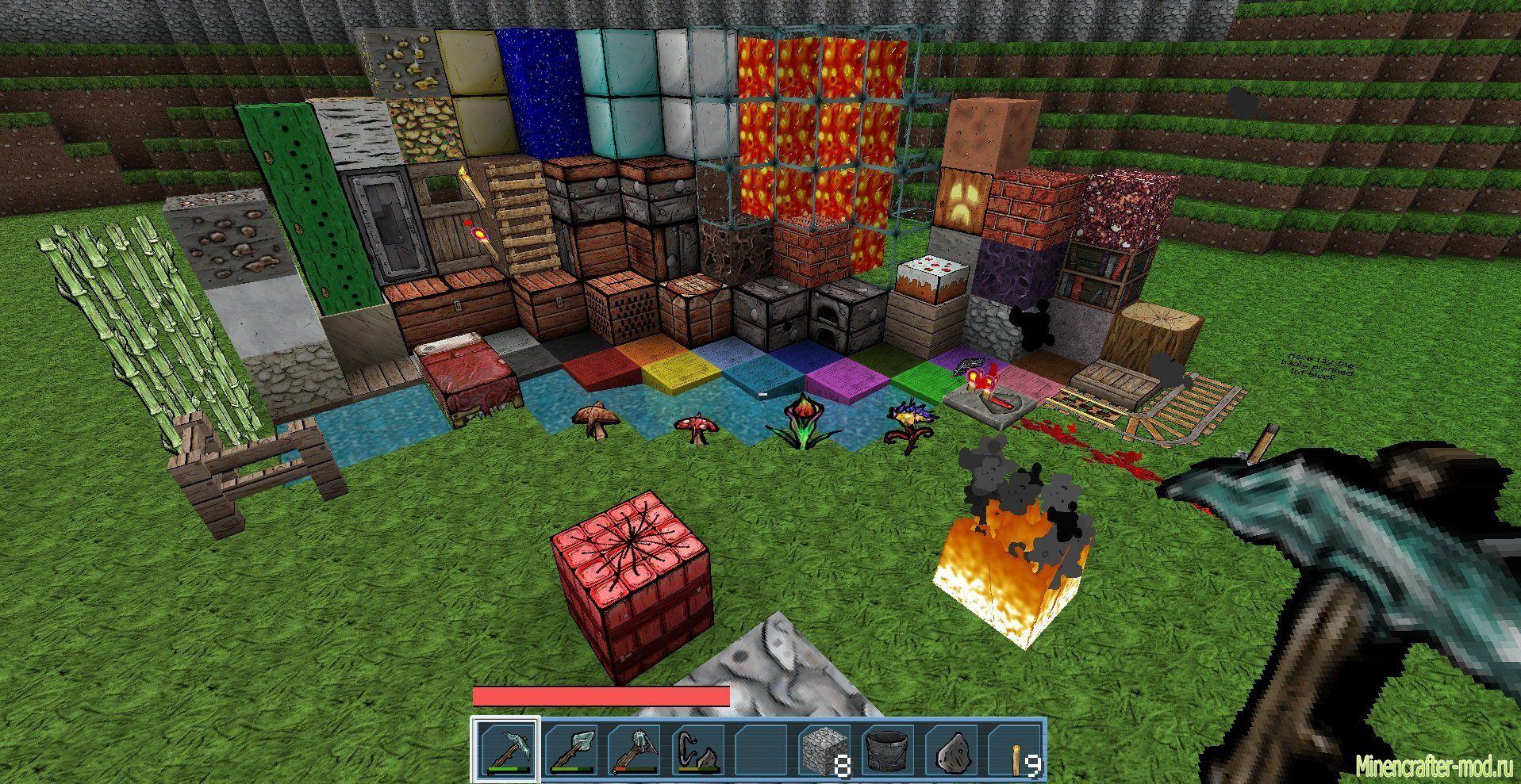Скачать Minecraft с Модами на Андроид