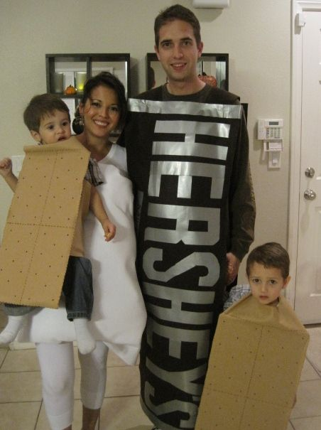 S\u0027mores Family Halloween Costumes Halloween Pinterest Family - halloween costume ideas for family