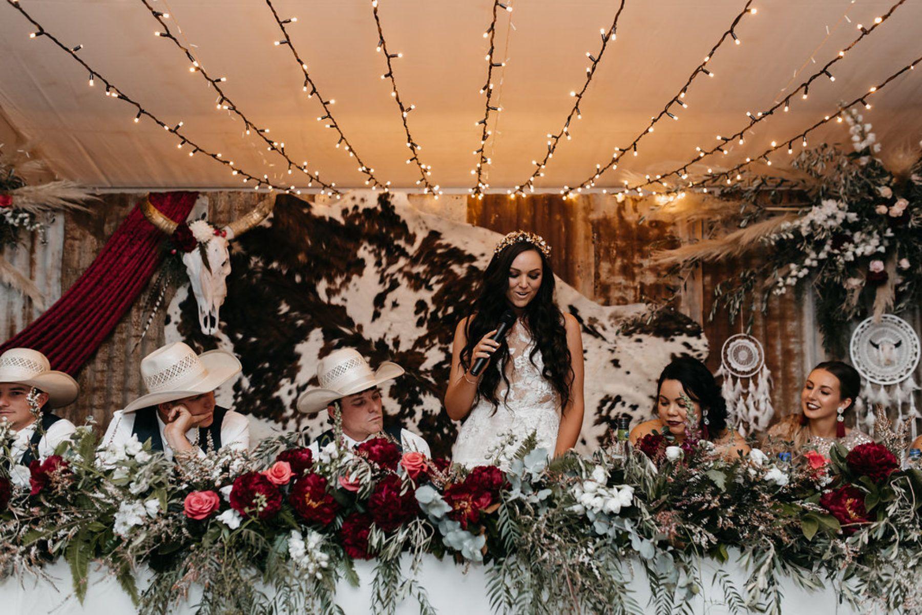 Josh Vicki S Glam Cattle Station Wedding Nouba Com Au Country Western Wedding Western Wedding Decorations Southern Wedding Ideas Country