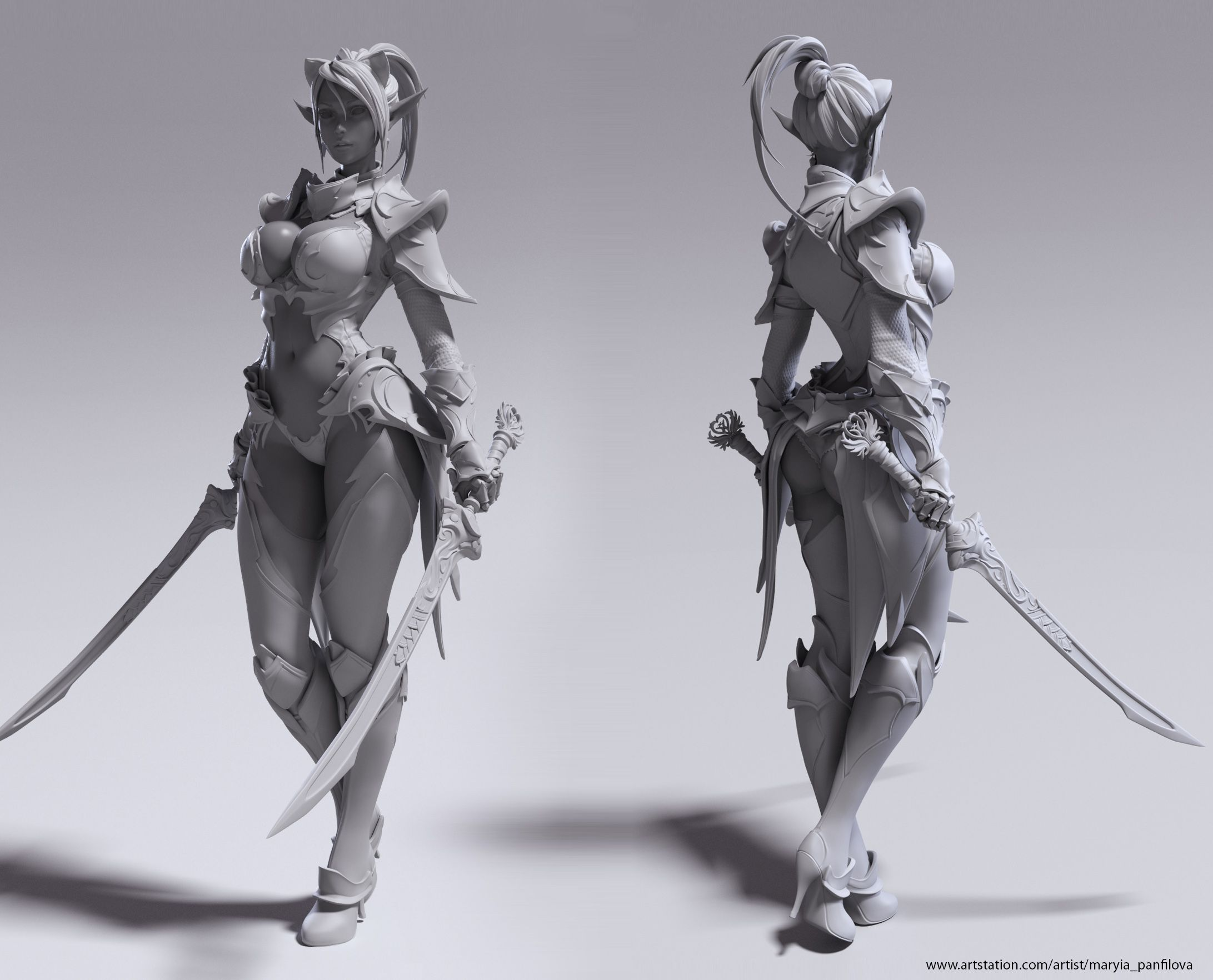 Lineage2 Blade dancer Artist: maryia_panfilova | 3D | Pinterest ...